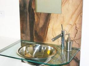 Foto PŘÍRODNÍ OHEBNÝ PÍSKOVEC - unikátní obkladový materiál pro interiér a exteriér