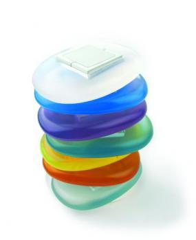 Foto: Olymps Door - Široká barevná škála dálkových ovládání modelu STONE