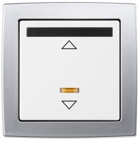 Foto ABB  - Stmívač žaluziový sinfračerveným přijímačem pro dálkové ovládání