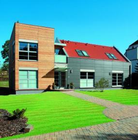 Ukázkový rodinný dům TENDENCE v Průhonicích s větráním a rekuperací