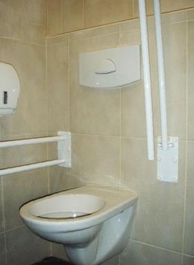 Madla u toalety