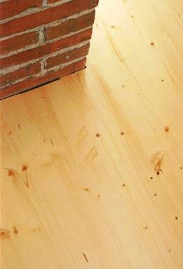 Foto FA - ADAM - podlahářské práce. Prkenná podlaha