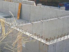 Foto Capro. Vysokopevnostní vlákna pro základové desky a zdi.