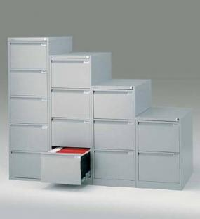 Kartotéky BISLEY pro ukládání dokumentů A4 a Foolscap.