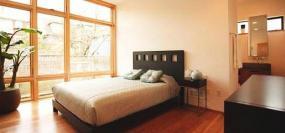 Foto Harmonie bydlení s.r.o. Realizovaný byt, ložnice.