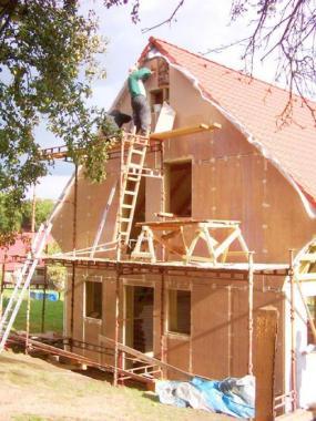 Foto: Ekopanely CB, realizace domu