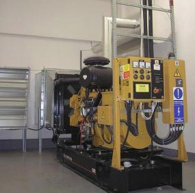 FOTO: AZ elektroprojekce, dieselagregát