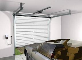 Foto: TRIDO, výsuvná sekční vrata pod strop