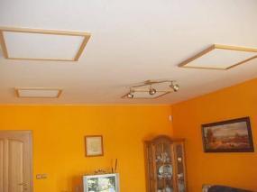 Foto: ELEK - BARTOŠ, zářiče umístěné na strop