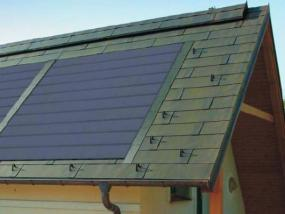Foto: www.tegola.cz, fotovoltaické šindele TEGOSOLAR