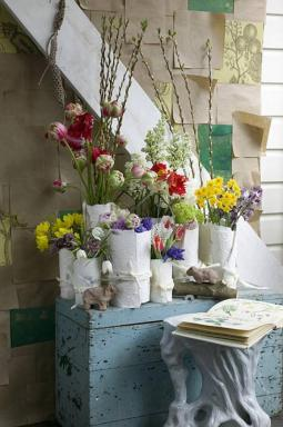 Foto: Holandská květinářská kancelář, atmosféra
