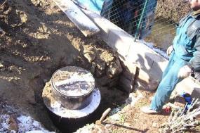 Foto: MIS - PS, domovní čerpací jímka