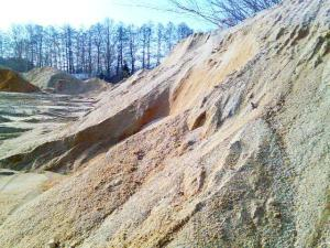 Písek do betonu