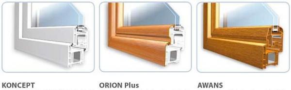 Obr: Oknoplast Group, další typy oken