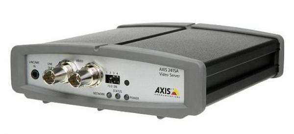 Foto: ORIS PLUS, IP video servery AXIS 241SA