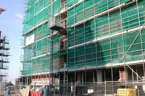 DE JONG LIFTEN CO, hřebenový stavební výtah