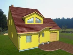 Typový nízkoenergetický dům NOVA 101/38o