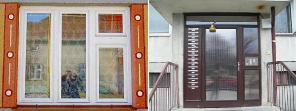 Foto: Apis - zateplování oken, zateplení špaletového okna a kovových dveří