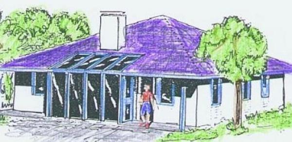 Obr: ARNET, typový dům v Táboře - 3D nákres