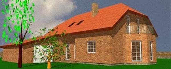 Obr: ARNET, typový dům v Chýnově