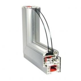 Obr: Plastová okna Novotný, Profil Aluplast ideal s izolačním dvojsklem