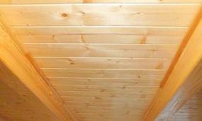 Foto: Elkom P.P., obložený strop