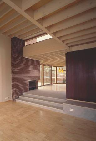 Foto: Hoss, lícové zdivo použité v interiéru