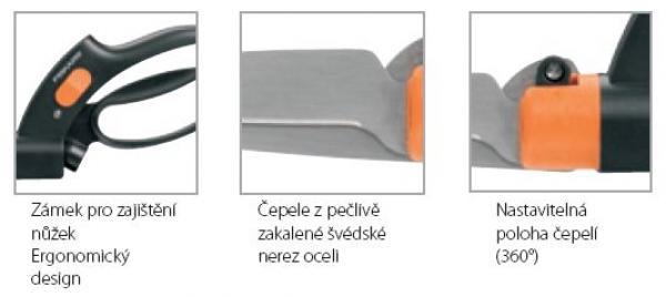 Nůžky na trávu (www.fiskars.com)