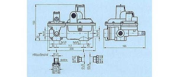 Foto: GAPA servis, regulátor tlaku pynu