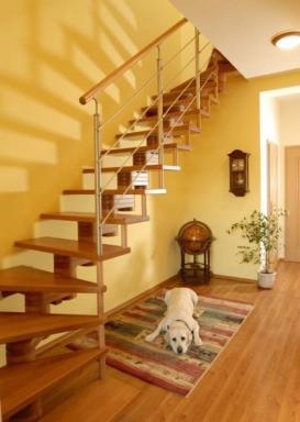 Foto: INVO CB, segmentové schodiště