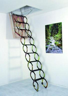 Foto: INVO CB, skládací schodiště Standard