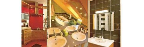 Obr: VELOX - HOFFMANN, kuchyně + dolní a horní koupelna