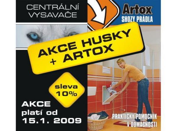 Obr: HUSKY + ARTOX, AKCE