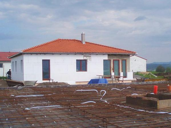 Foto: PASIVNÍ A NÍZKOENERGETICKÉ DOMY, stavba pasivního domu