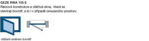 Obr: www.geze.cz, GEZE RWA 105E