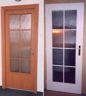 Foto: Vladislav Bartůněk, renovované interierové dveře