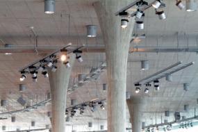 Foto: Českomoravský beton, pohledový beton v nákupním centru Adidas