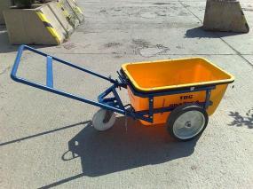 Foto: Českomoravský beton, MALMIX® transportní vozík pro přepravu na stavbě