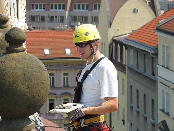 Foto: Miroslav Jelínek - výškové a stavební práce