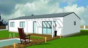 Obr: ENERGO CONSULTING, dům se sedlovou střechou