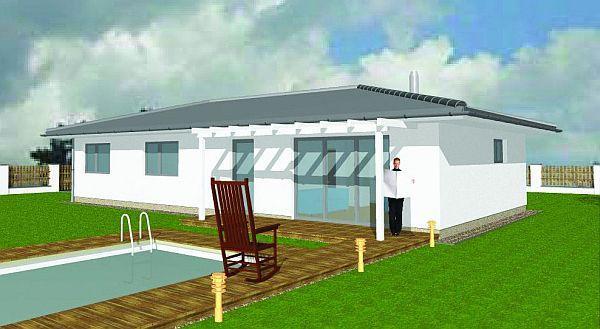 Obr: ENERGO CONSULTING, dům s valbovou střechou