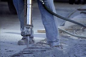 Ilustrační foto (www.shutterstock.com), beton je velmi pevný