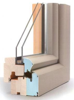 Foto: INTERNORM, dřevo-hliníková okna EDITION