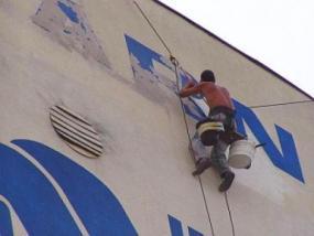 Foto: 2JK, oprava a nátěr fasády