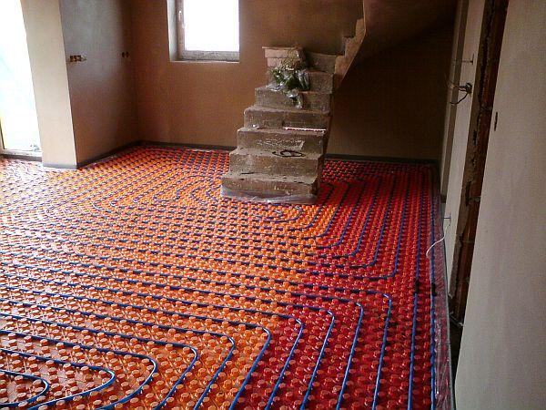 Foto: Sdružení RAKA, podlahové vytápění