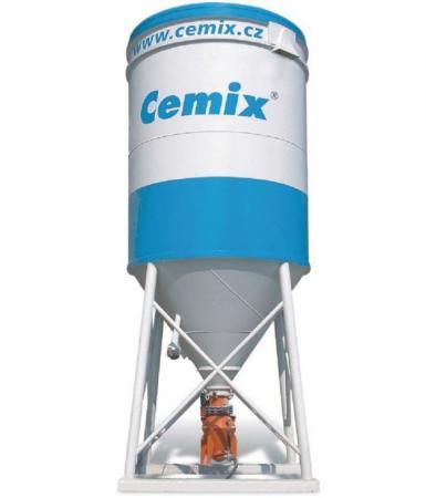 Foto: Cemix, silo se směsí