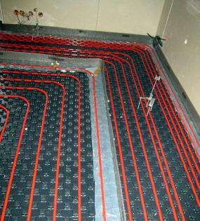 Foto: Cemix, podlahové vytápění