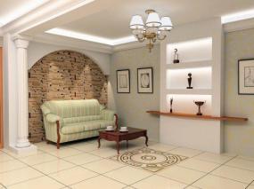 Ilustrační foto (www.shutterstock.com), osvětlení obytné místnosti