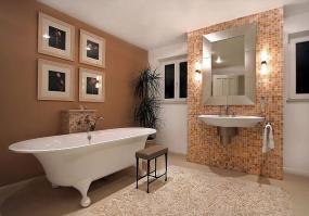 Ilustrační foto (www.shutterstock.com), osvětlení koupelny