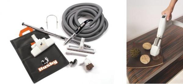 Foto HUSKY - centrální vysavače, příslušenství vysavače, štěrbinový kartáč